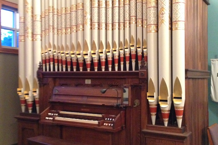 St. Michael's Historic Organ - featured in our 11:00 Sunday Eucharist.