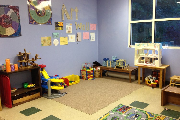 One of our two nursery rooms.