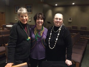 Anne Honeycutt, Judy Quattlebaum and Diane Merrit